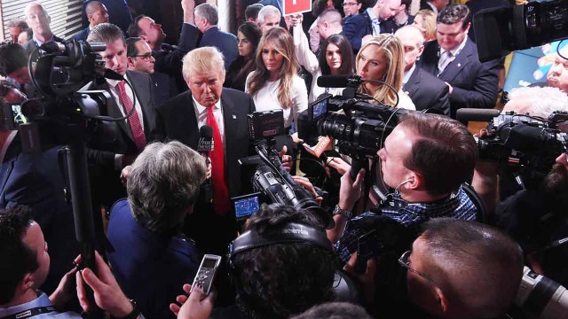 Are the media treating the 2016 race like a game?
