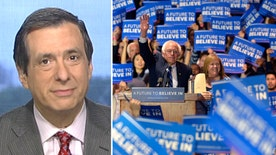 'MediaBuzz' host on why Bernie Sanders is under fire to reign in his more over-zealous supporters