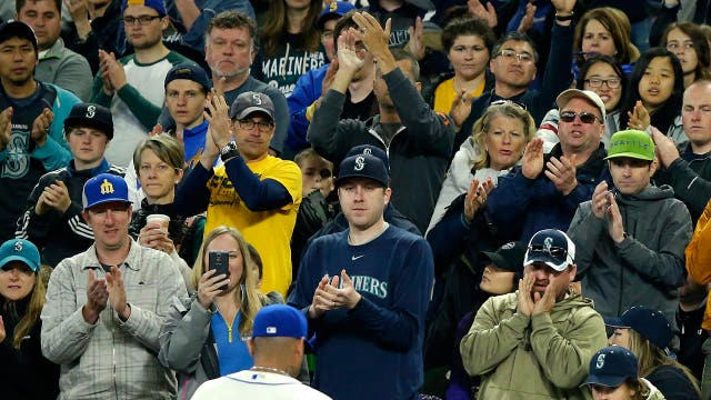 Ballparks are filling up baseball fans and at a record pace
