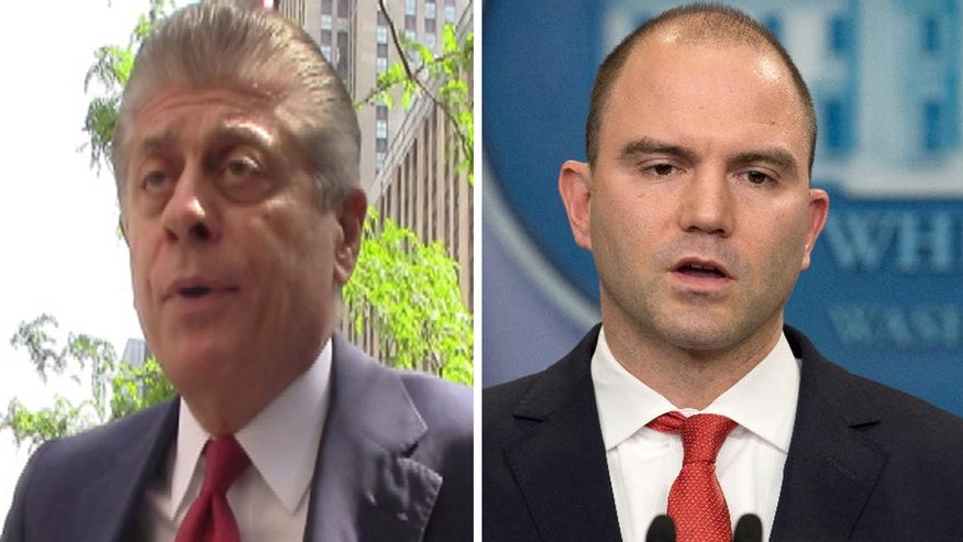 Judge Napolitano's Chambers: Judge Andrew Napolitano explains how Obama's cheif advisor Ben Rhodes and the US government lied to the American people about the Iran nuclear deal