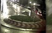 Raw video: Wild CCTV footage from Romania