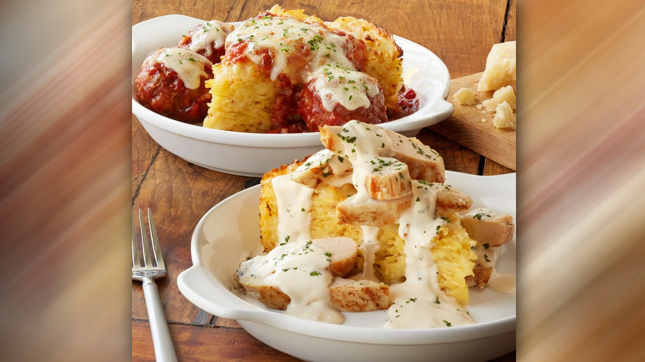Olive Garden Unveils Larger Than Life Spaghetti Pies Fox News