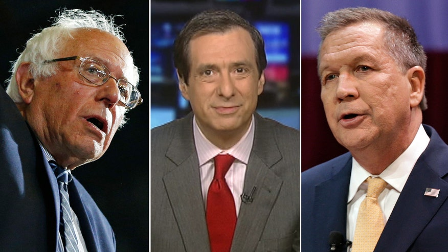 Bernie burned by Obama? Kasich not yet endorsing Trump? 'MediaBuzz' host reacts to both parties' struggle to unite behind presumptive nominee