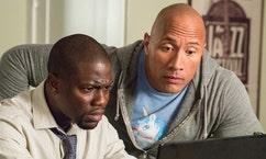Stars team up in new action comedy 'Central Intelligence'