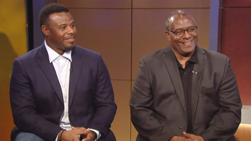MLB father and son duo Ken Griffey Sr. and Jr. team up with Bayer to raise awareness about the Men Who Speak Up campaign to get men to start talking about their prostate health and cancer risk