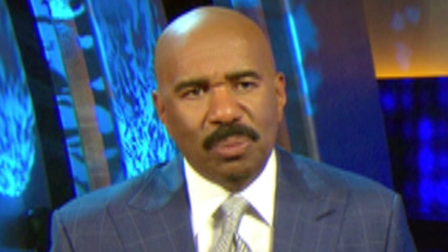 "Steve Harvey isn't scared of embarrassing stars on ""Celebrity Family Feud"""