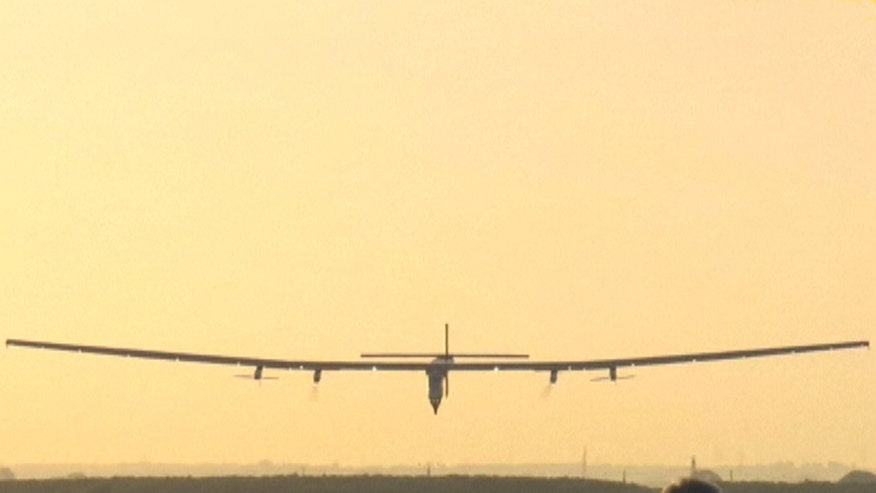 Plane completes historic trans-Atlantic flight