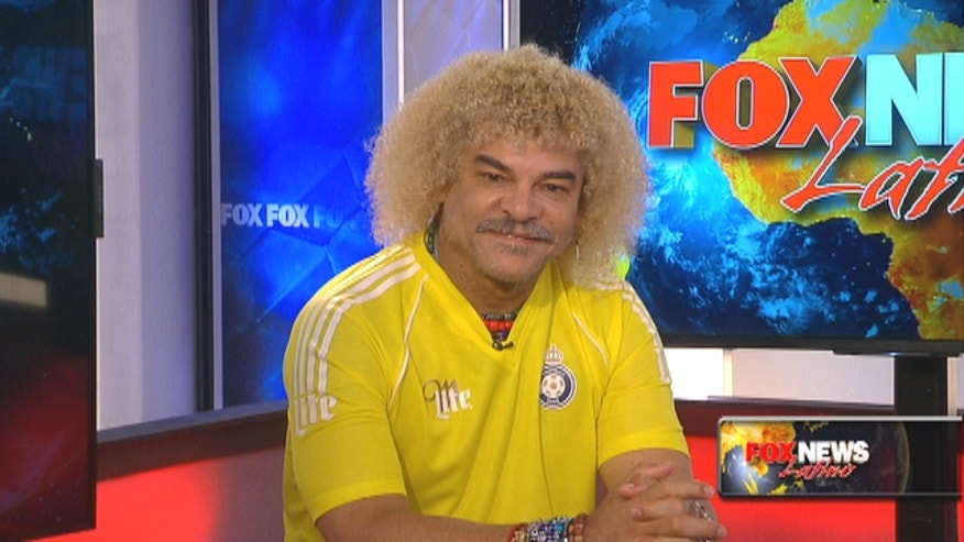 "Colombian soccer legend, Carlos ""El Pibe"" Valderrama, he of the curly golden locks, talks Copa America, James Rodriguez and hair care with FNL."