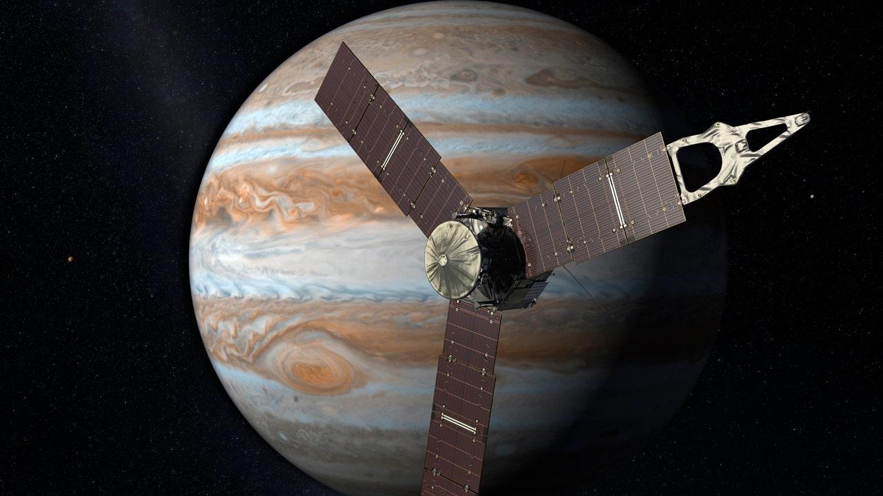 Juno set to arrive at Jupiter on Fourth of July, a patriotic coincidence