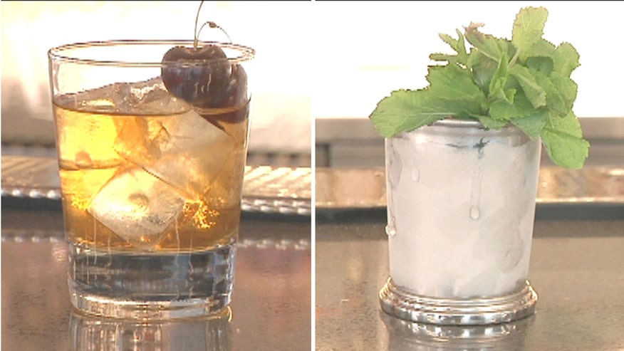 Mixologist Moses Laboy creates delicious summer cocktails.