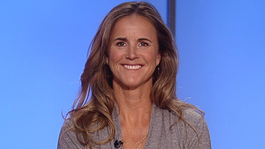 National Soccer Hall of Famer Brandi Chastain talks about developing a game plan to help her 10-year-old son fight Crohn's disease