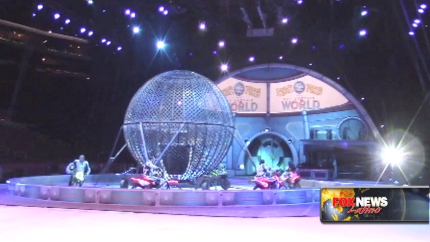 "The ""Greatest Show on Earth"" -- Ringling Bros. and Barnum and Bailey circus -- heads to outer space for its latest show."
