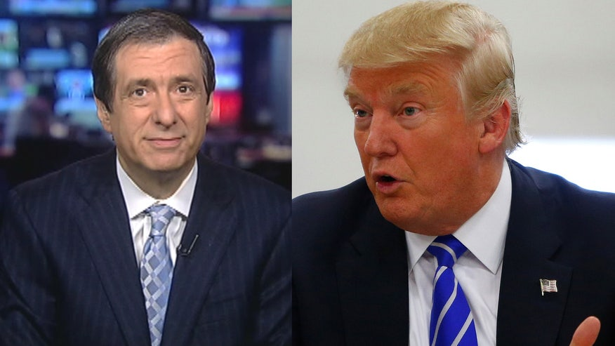 'MediaBuzz' host Howard Kurtz weighs in on the media firestorm in the wake of Donald Trump's 'Second Amendment people' comment