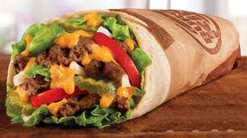 Chew on This: Does a burger really belong in a tortilla?