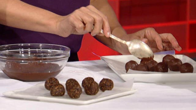 How to make fig and ginger truffles