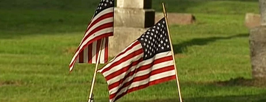 Thieves in Indiana have been stealing symbols of veterans' service at cemeteries