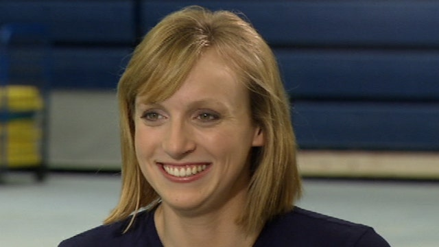 Olympic Gold Medal Swimmer Katie Ledecky shows us her medals and tells us about her record breaking 800-meter-freestyle race in Rio