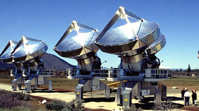 Significant extraterrestrial signal detected from space