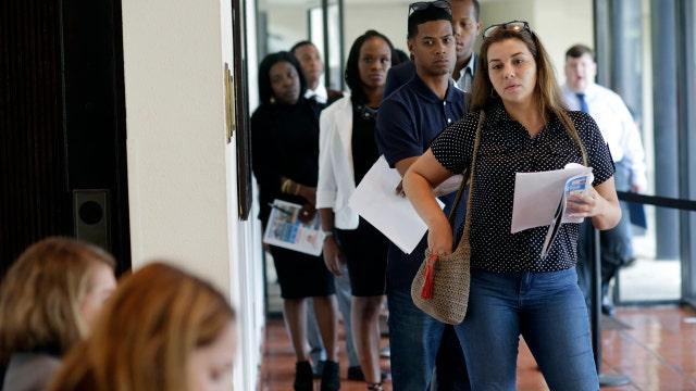 A weak summer for the job market