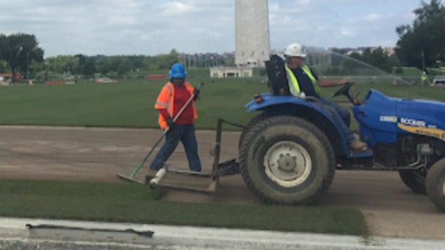 Behind the scenes of the National Mall's restoration project