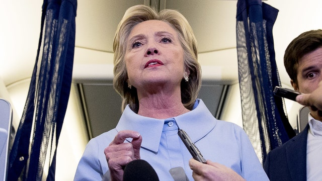 Clinton dismisses 'conspiracy theories' about her health