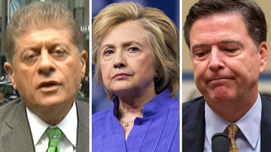 Judge Napolitano's Chambers: Judge Andrew Napolitano reacts to recent information about Hillary Clinton's interview the FBI