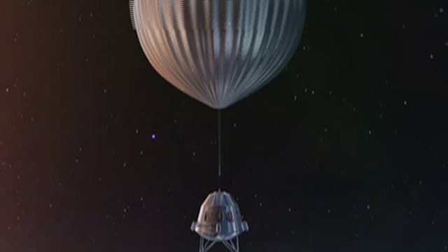 Would you trust a balloon to take you to space?