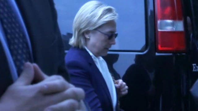Hillary Clinton's health incident prompting talk of options