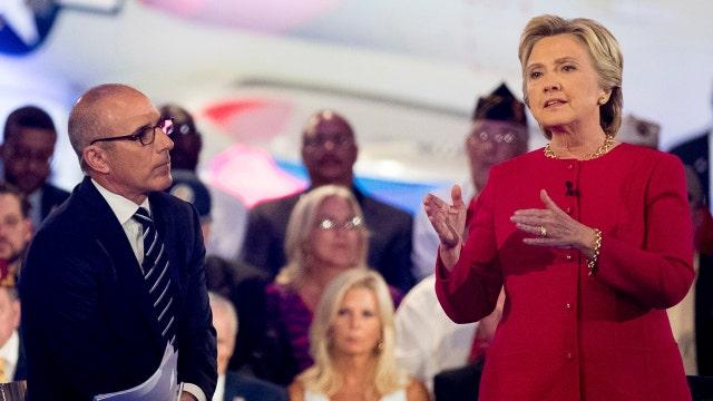 Your Buzz: Was Matt Lauer fair to Clinton?
