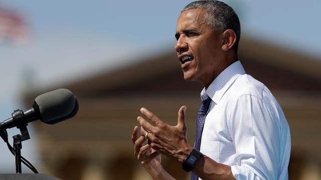 Obama: Trump is not a champion for the working people