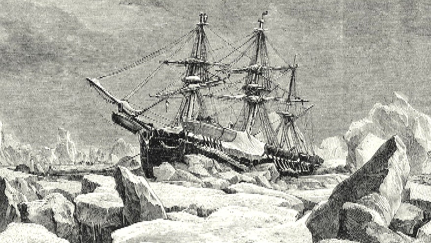 Researchers discover long-lost HMS Terror 168-years after Sir John Franklin's doomed ship wrecked