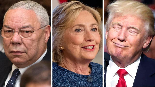 Colin Powell criticizes both candidates in leaked emails