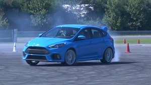 Gary Gastelu gets the drift in the high-performance 2017 Ford Focus RS.