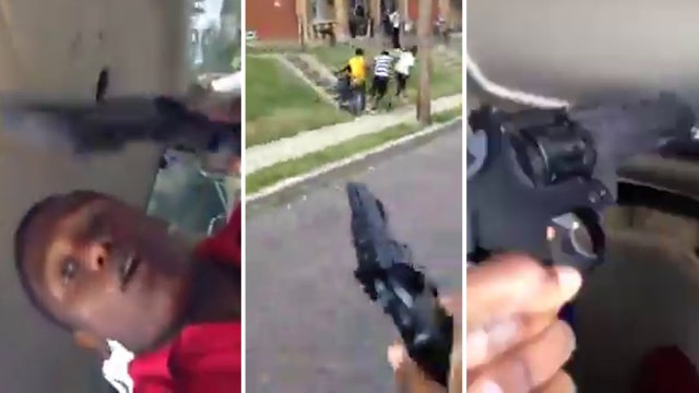 Shocking video of fake drive-by shooting has cops' attention