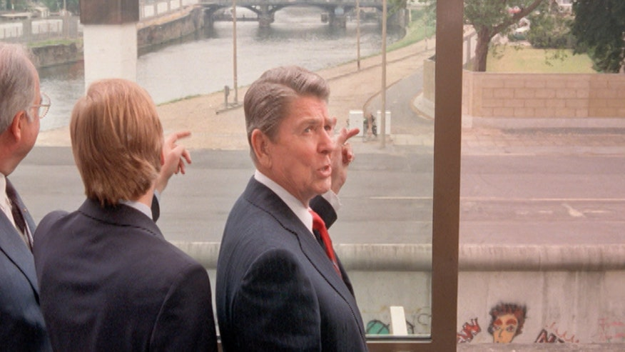 A look back at perhaps Reagan's most famous speech, and his demand to Gorbachev at the Berlin Wall