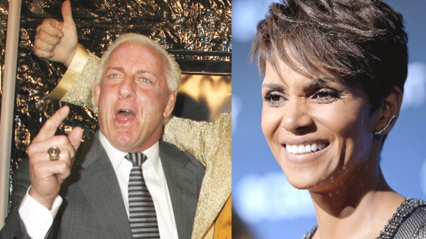 Wrestling legend Ric Flair claims he had sex with Oscar-winning actress Halle Berry, allegedly took her for a ride on 'Space Mountain'