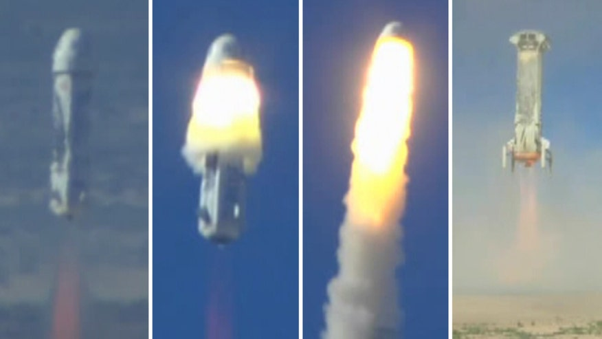 Raw video: New Shepard rocket's escape system put to test