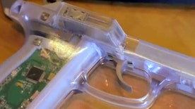 19-year-old MIT undergraduate developing a smart gun with a fingerprint reader, safety mechanism will allow only the gun owner to use the firearm