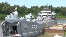 Allied forces stormed Omaha Beach over 70 years ago. Now veterans are keeping a historic ship from that time open for future generations
