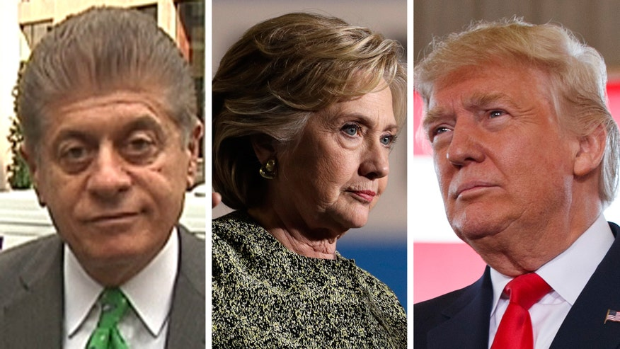 Judge Napolitano's Chambers: Judge Andrew Napolitano explains how the press can publish information - like WikiLeaks' Hillary Clinton emails - even if that information has been stolen