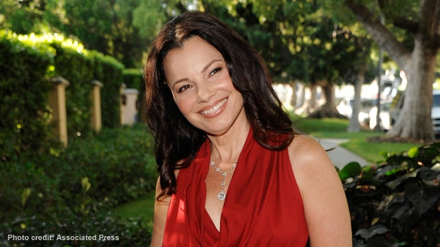'The Nanny' star Fran Drescher isn't in 'a rush' to date, says she feels 'very peaceful being alone'