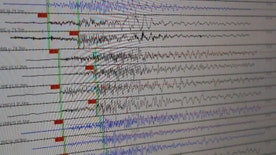 Patterns and frequency of earthquakes may serve as early indicators of bigger events