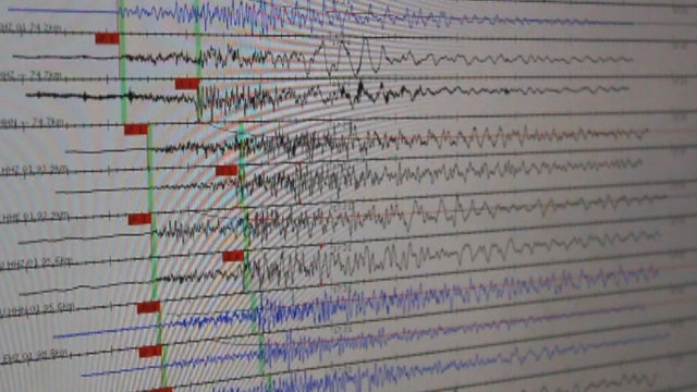 Scientists monitor quakes for signs of something larger