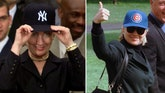 Hillary Clinton's baseball loyalty is in question as the Chicago native, allegedly a life-long fan of World Series-bound Cubs, roots for New York Yankees in bad times