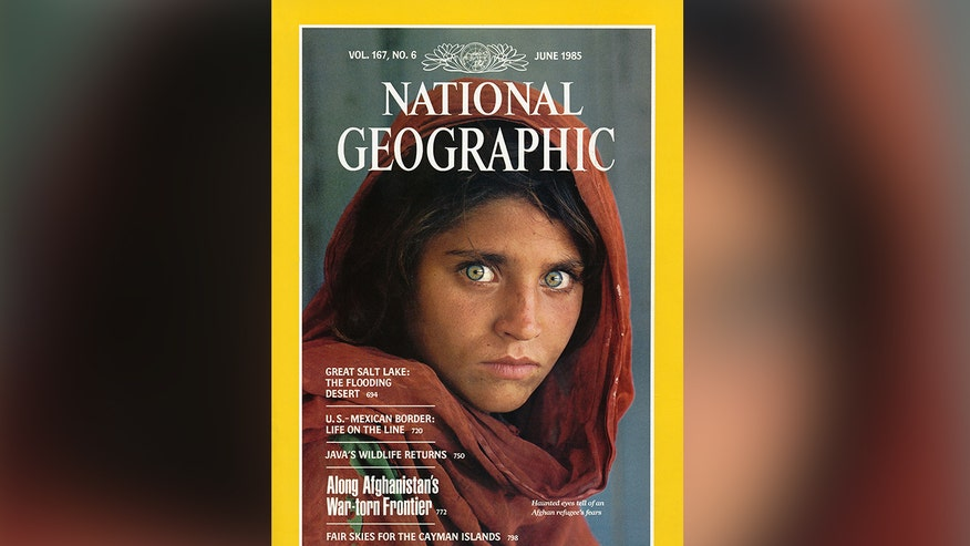 'Afghan Girl' from famous 1985 National Geographic cover has been arrested in Pakistan, accused of living with a forged computerized national identity card