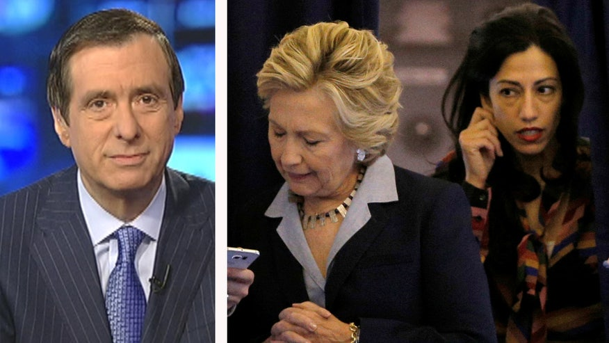 'MediaBuzz' host Howard Kurtz weighs in on the FBI re-opening the investigation into Hillary Clinton's emails and how Anthony Weiner may play a part in the scandal