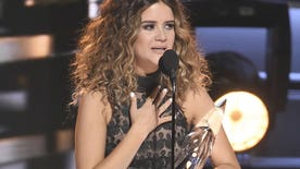 Singer named Country Music Association's 2016 New Artist of the Year