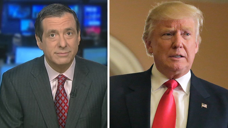 'MediaBuzz' host Howard Kurtz weighs in on the mainstream media's negative coverage over President-elect Donald Trump's win