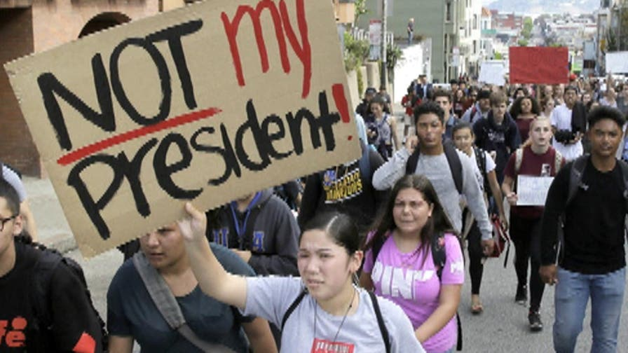 Grass-roots movement for California to secede from United States grows. Tensions and concerns rise over President-elect Donald Trump, as protests ignite coast-to-coast in wake of Trump winning the presidential election