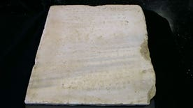 Earliest known stone inscription of Ten Commandments is up for auction, only version believed to still be intact today